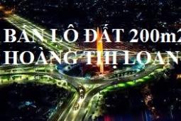 Bán đất mặt tiền Hoàng Thị Loan | Trục Tây Bắc, phường Hòa Minh, Liên Chiểu Đà Nẵng