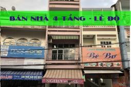 Cần Bán Nhà 4 Tầng Mặt Tiền Lê Độ Đà Nẵng