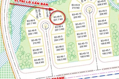 Bán lô rẻ nhất FLC Eco Charm   B3-46-05, đất đẹp biệt thự 5 sao   Tây Bắc Đà Nẵng